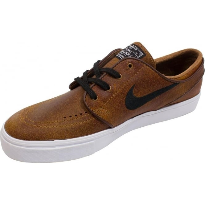 wholesale dealer c440e d956d Nike Nike SB Air Zoom Stefan Janoski Elite Shoe - Ale Brown/Black white/  Dark Field Brown