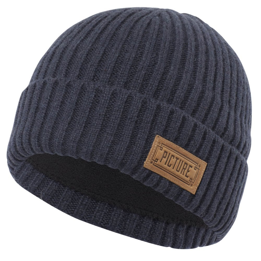Picture Organic Clothing Picture Ship Beanie - Dark Blue