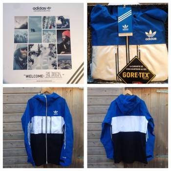 Win A Mens Adidas Catchline Goretex Jacket, Large!