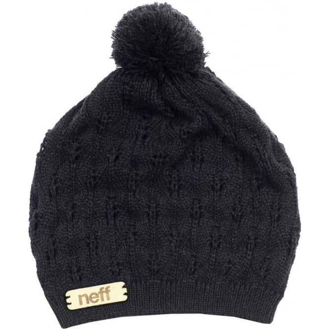 Neff  Kelly Women's Beanie - Black