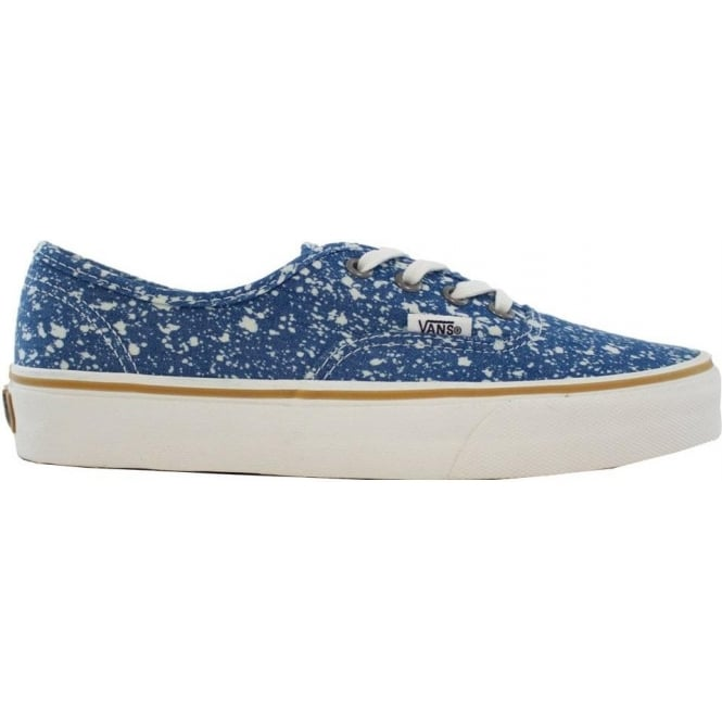Vans  Authentic - (Denim Splatter) Blue