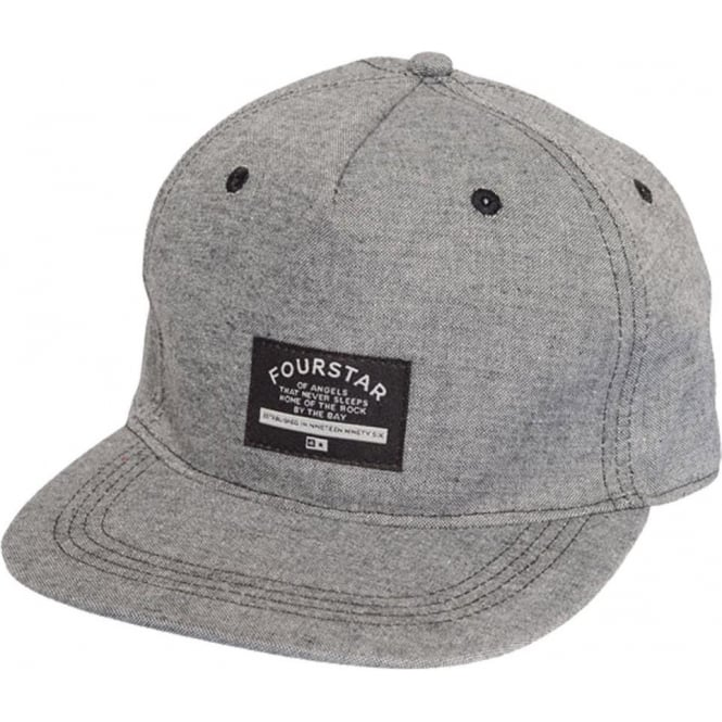 Fourstar  Chambray Cap - Grey