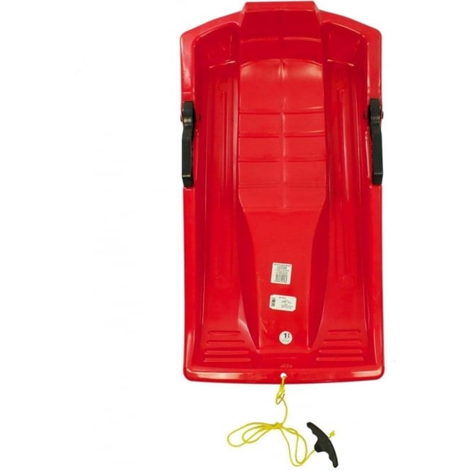 Mycoal  Luge 1 Person Sledge - Red