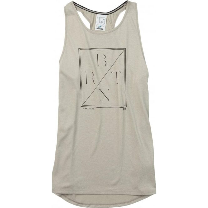 Burton  Haskell Women's Tank - Dove Heather