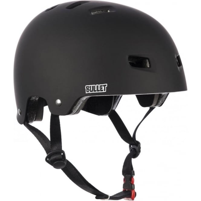 Bullet  Deluxe T35 Junior Helmet - Matt Black