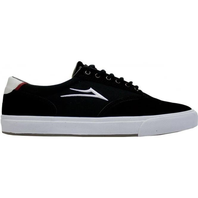 Lakai  Mayfair Shoe - Black/White Suede