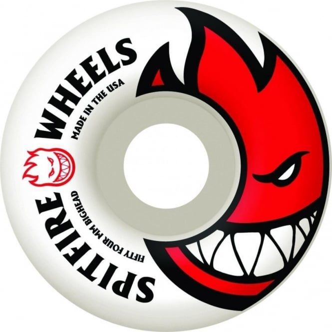 Spitfire  Big Head Wheels 52MM- Red