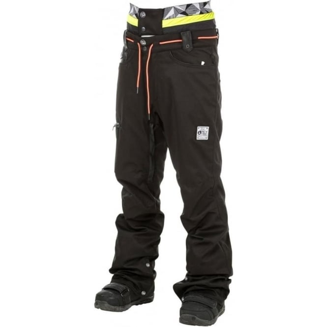 Picture Organic Clothing Picture Under Pant - Black Jeans/Black Leather
