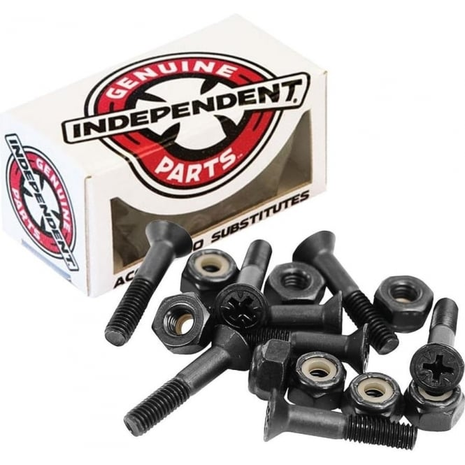 Independent Trucks Independent 1 1/4 Phillips Bolts - Black