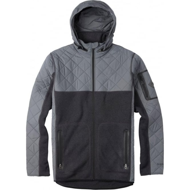 Burton  Pierce Fleece - True Black Heather