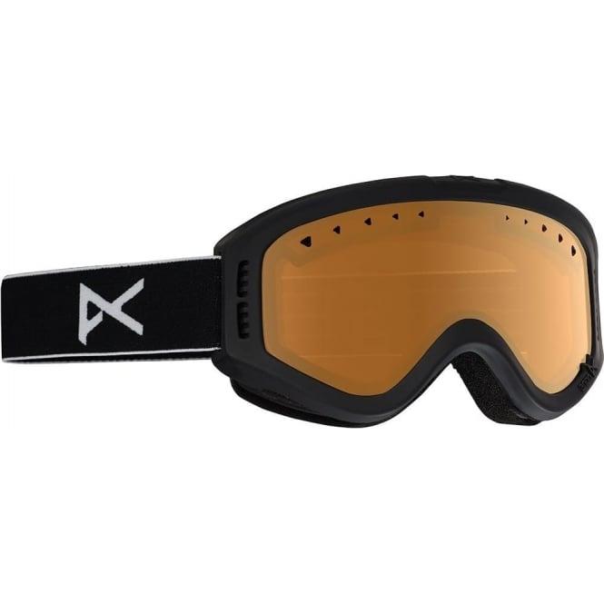 Anon  Tracker Goggles 2017 - Black with Amber Lens
