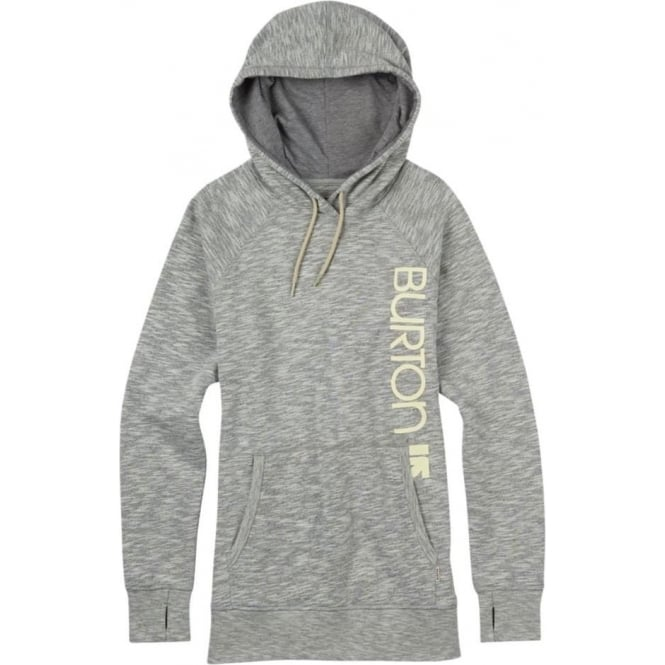Burton  Custom Antidote Pullover Women's Hoodie - Grey Heather