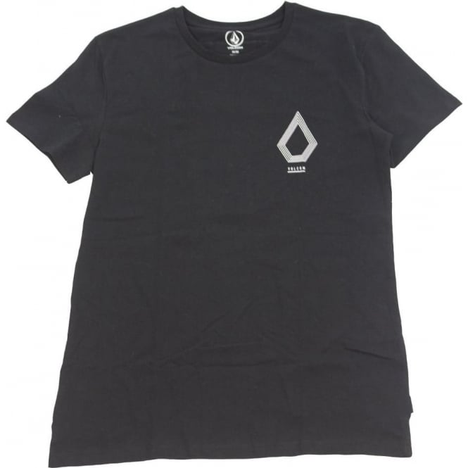Volcom  Tall Line SS T-Shirt - Black