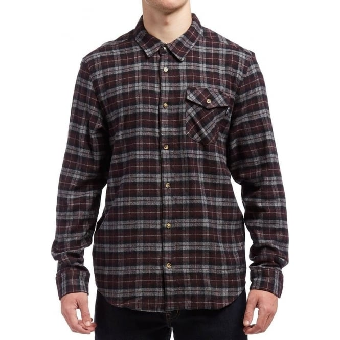 Primitive  Philly Flannel Shirt - Burgundy