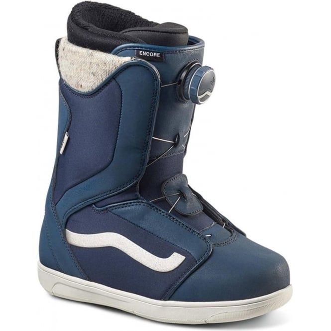 Vans  Encore Women's Snowboard Boot 2017 - Blue