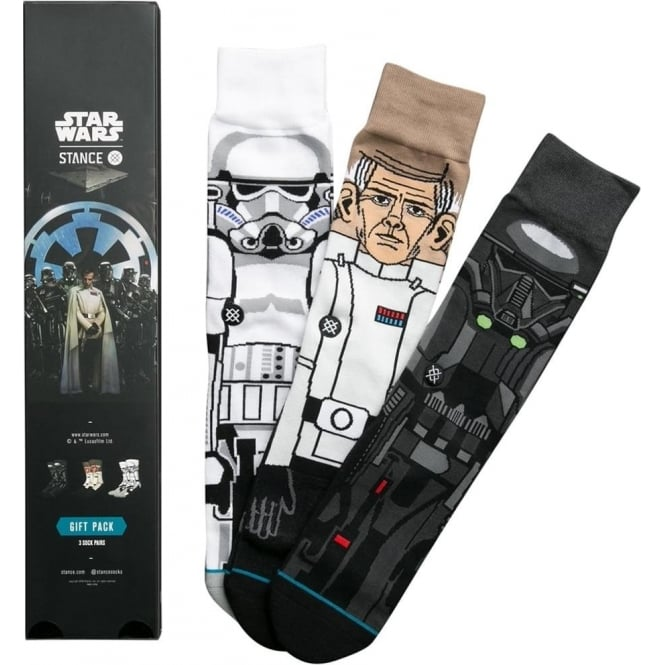Stance  Star Wars Rogue One 3pk Socks - Black
