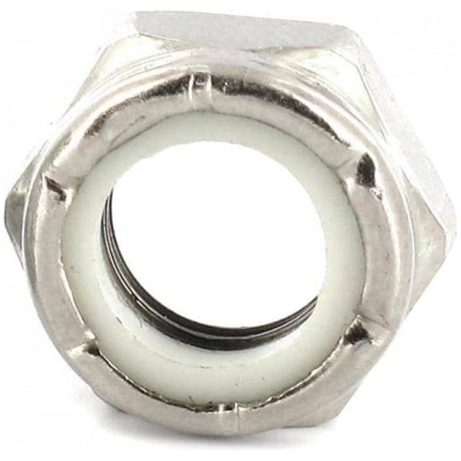 Sushi  Axel Nuts 8mm - Silver