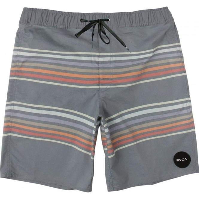 RVCA  Islands Volley Shorts - Dark Blue