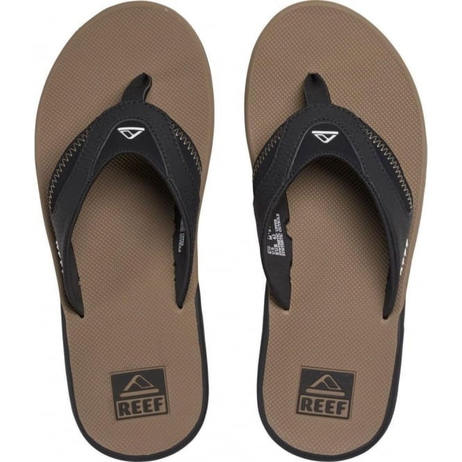 a92cbac55ad6 Buy Reef Fanning Sandals - Black Tobacco