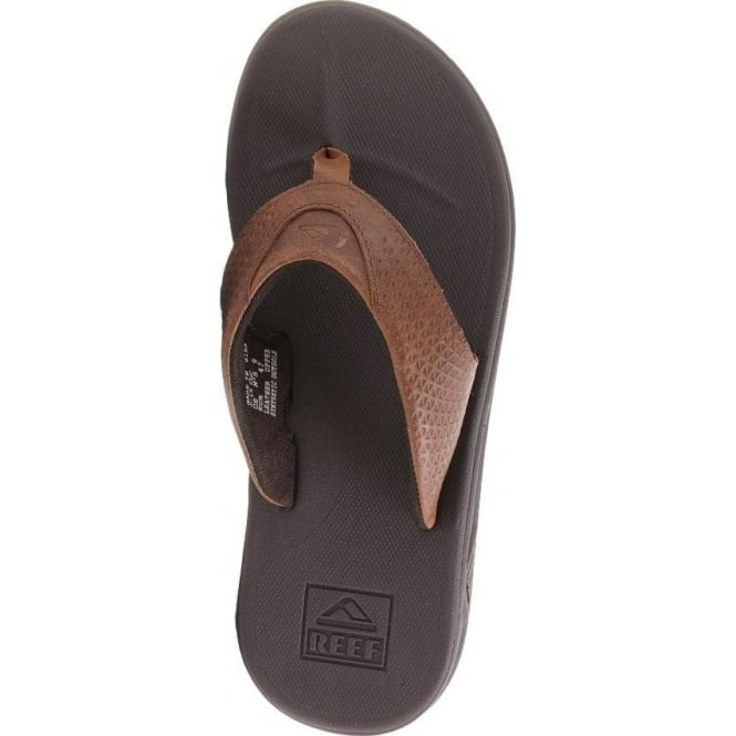 Reef  Rover Leather Sandals - Brown