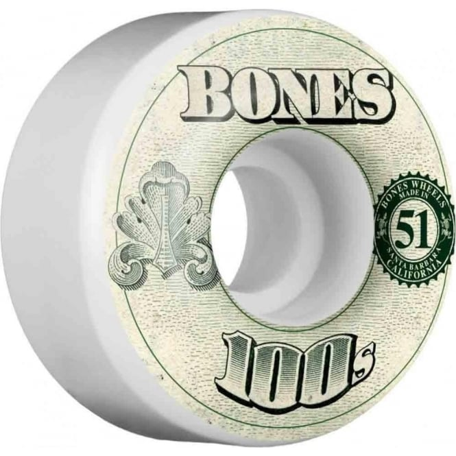 Bones  OG 100's #11 V4 Wheels - 51mm