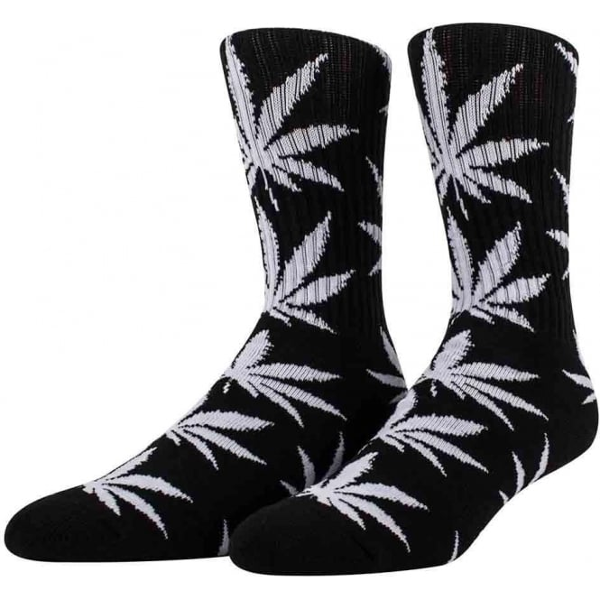 HUF  Plantlife Crew Socks - Black