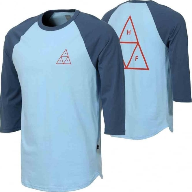 HUF  Triple Triangle Raglan - Indigo Denim