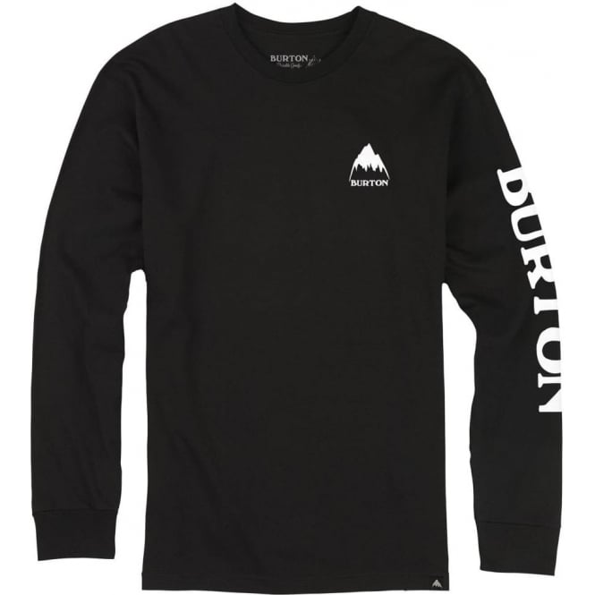 Burton  Elite Long Sleeve T-Shirt - True Black
