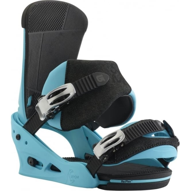 Burton  Custom Snowboard Binding 2018 - CS Blue