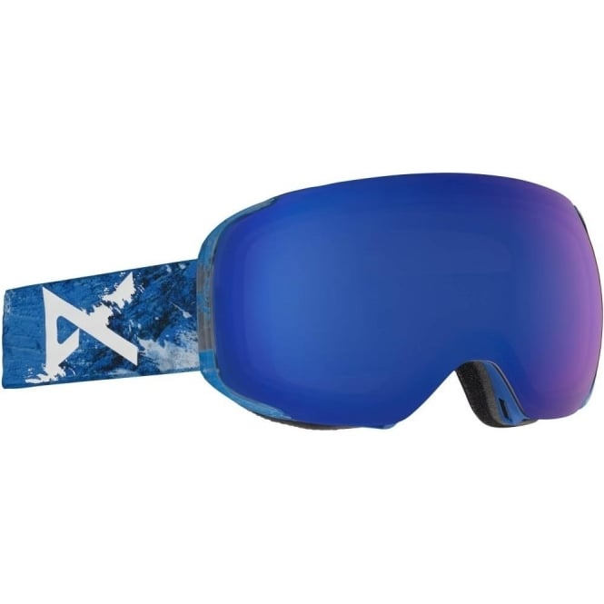 Anon  M2 MFI Goggles 2018 - Hiker Blue with Sonar Blue Lens