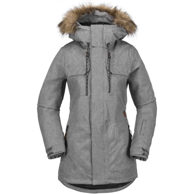 Volcom  Shadow Insulated Women's Snowboard Jacket - Heather Grey