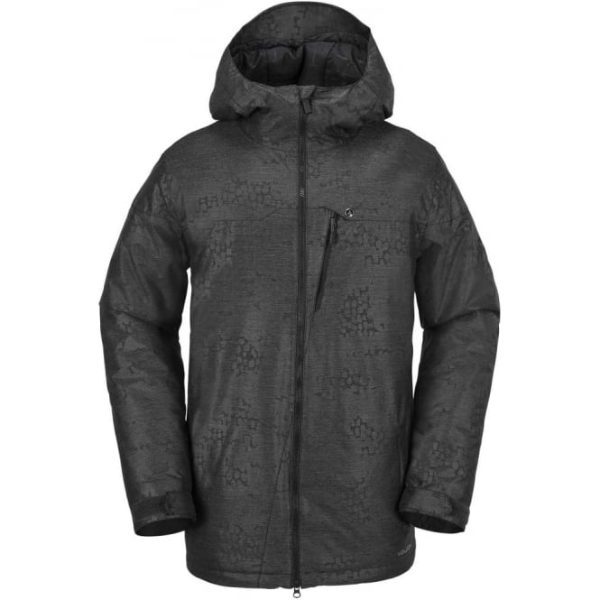 Volcom  Prospect Insulated Snowboard Jacket - Black On Black