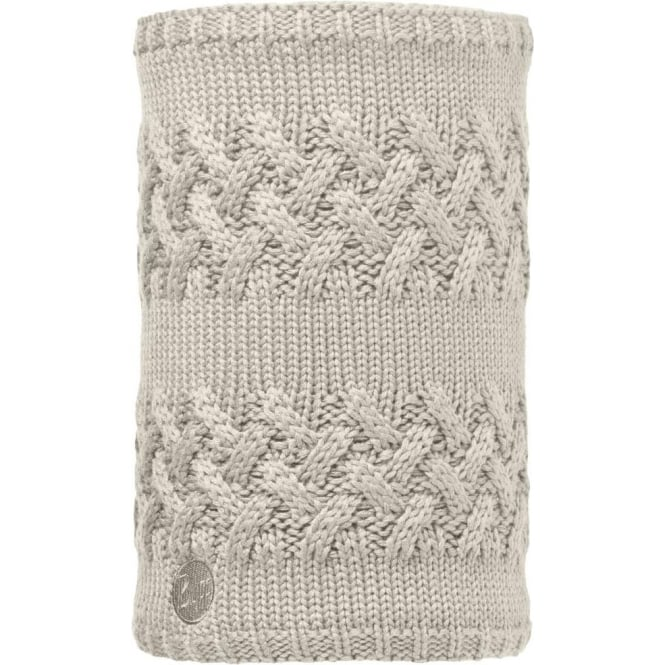 Buffwear Buff Savva Neckwarmer - Cream/Grey Vigore