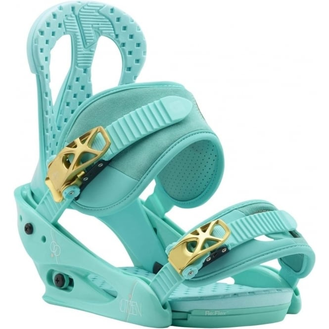 Burton  Citizen Women's Snowboard Binding 2018 - The Teal Deal
