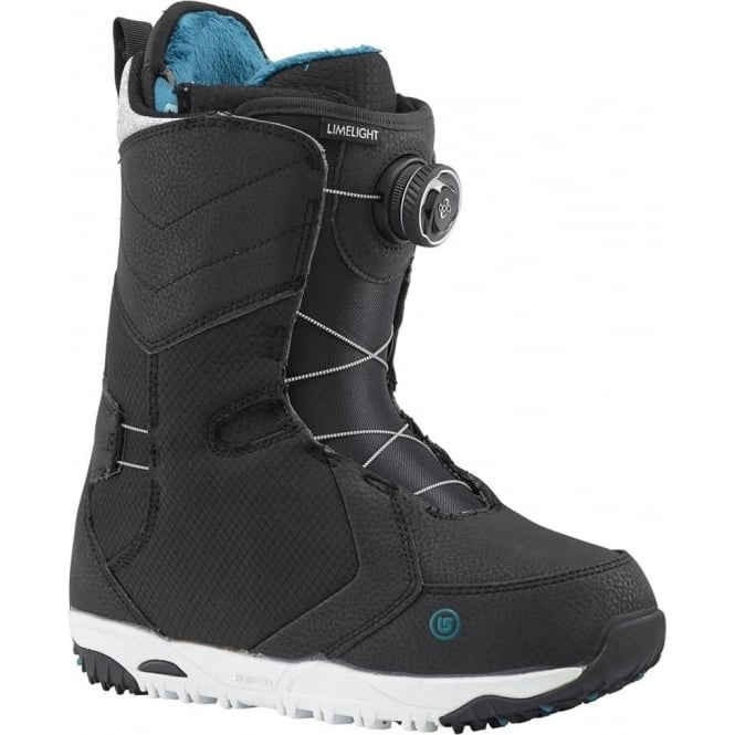 Burton  LimeLight Boa Women's Snowboard Boot 2018 - Black