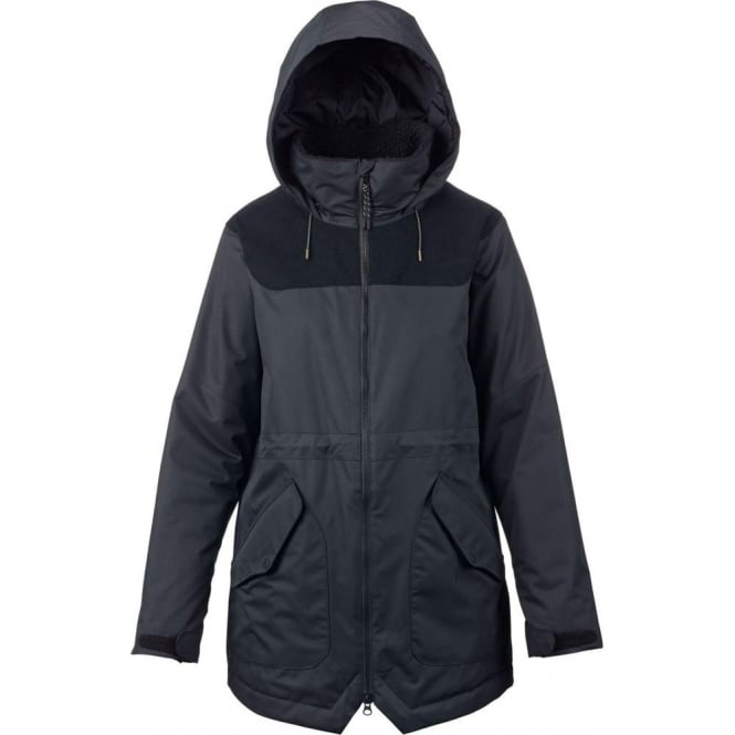 Burton  Prowess Women's Jacket - True Black/True Black Cord