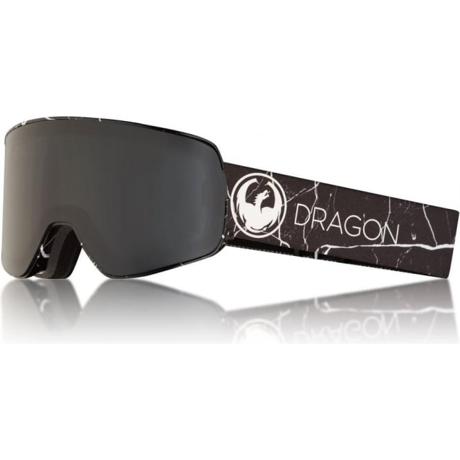 Dragon  NFX2 Goggle - Jossi Wells Signature with Dark Smoke + Lumalens Flash Blue Lens