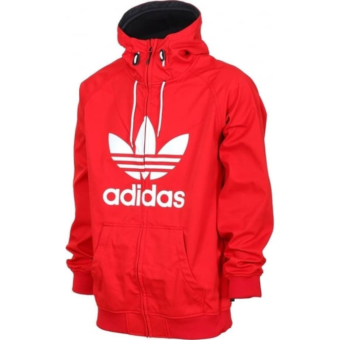 Buy Adidas Greeley Soft Shell Jacket - Scarlet Red White  502ae9a137