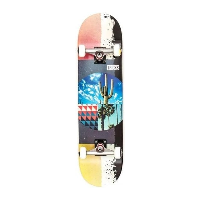 Tricks Skateboards Tricks Cactus Complete Skateboard - 8.0