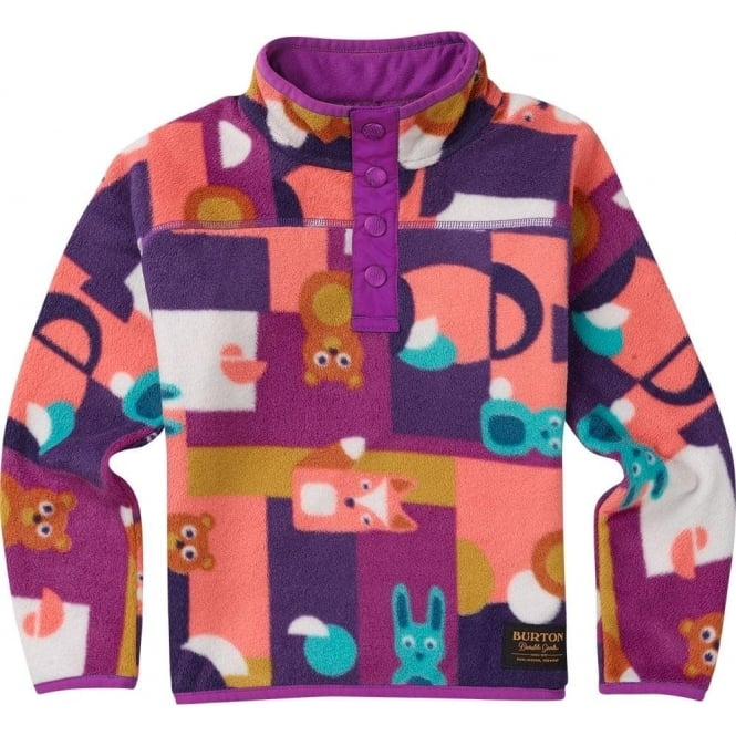 Burton  Spark Junior Fleece - Paper Animals