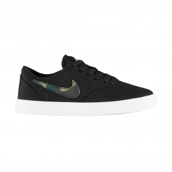 Nike  SB Check Canvas (GS) Shoe - Black/Pro Green/Baroque Brown/Medium Olive