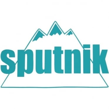 Sputnik Die Cut Vinyl Sticker Large - Teal
