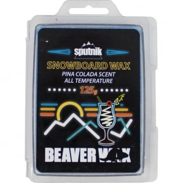 Sputnik All Temperature 125g Beaver Snowboard Wax - Pina Colada
