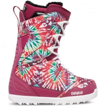 Thirtytwo Lashed Women's Snowboard Boot 2016 - Tie Dye