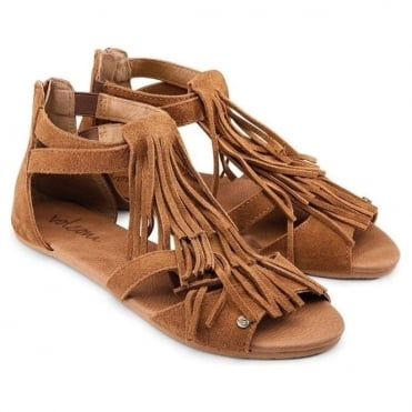 Volcom Backstage Women's Sandals - Cognac