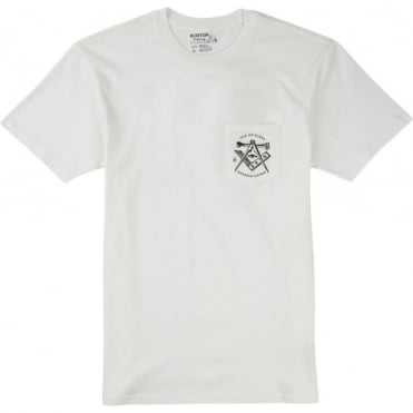 Burton OG Slim T-Shirt - Stout White