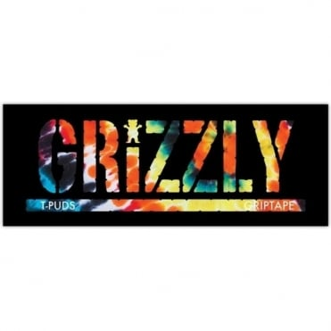 Grizzly Torey Tie Dye Sticker