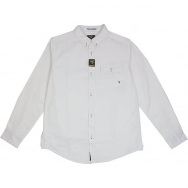 Fourstar Kennedy Brushed L/S Shirt - White
