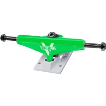 Venture Low Trucks Players Club Neon Green/Snowcone - 5.25