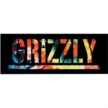 Grizzly Fire Tie-Dye sticker - Assorted